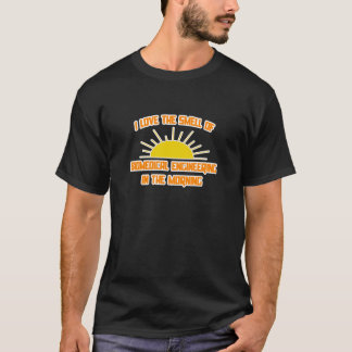 Smell of Biomedical Engineering in the Morning T-Shirt