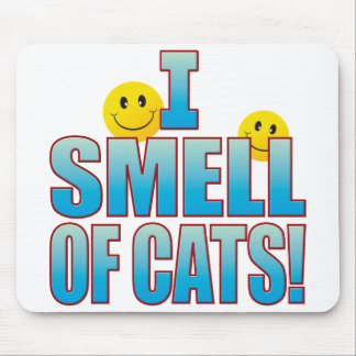 Smell Of Cats Life B Mouse Pad