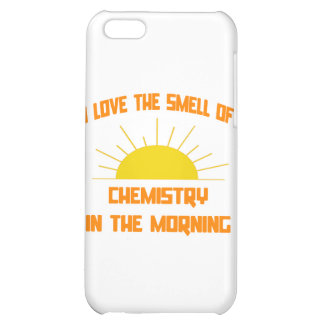 Smell of Chemistry in the Morning iPhone 5C Cover