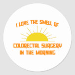 Smell of Colorectal Surgery in the Morning Stickers
