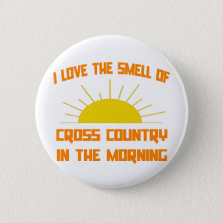 Smell of Cross Country in the Morning Pinback Button