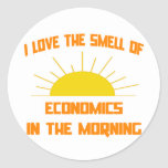 Smell of Economics in the Morning Stickers