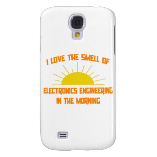Smell of Electronics Engineering in the Morning Samsung Galaxy S4 Covers