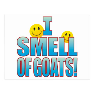 Smell Of Goats Life B Postcard
