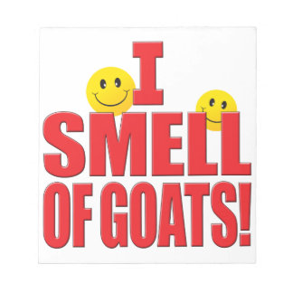 Smell Of Goats Life Notepad