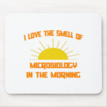 Smell of Microbiology in the Morning Mouse Pad
