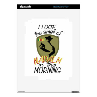 Smell Of Napalm Decal For iPad 2