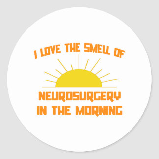 Smell of Neurosurgery in the Morning Sticker