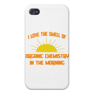 Smell of Organic Chemistry in the Morning iPhone 4/4S Covers