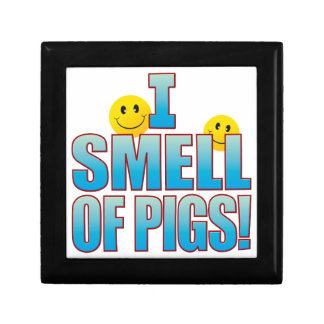 Smell Of Pigs Life B Jewelry Box