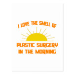 Smell of Plastic Surgery in the Morning Post Card