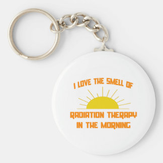 Smell of Radiation Therapy in the Morning Keychain