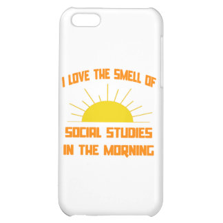 Smell of Social Studies in the Morning Cover For iPhone 5C