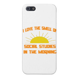 Smell of Social Studies in the Morning iPhone 5 Case