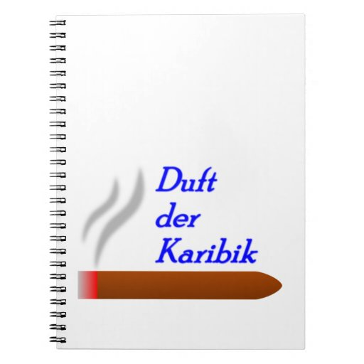 Smell of the Caribbean Spiral Notebook