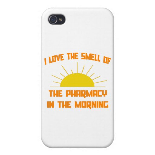 Smell of the Pharmacy in the Morning iPhone 4/4S Covers