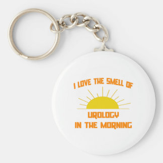 Smell of Urology in the Morning Keychain
