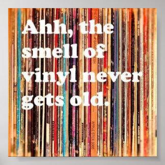 Smell of Vinyl Poster
