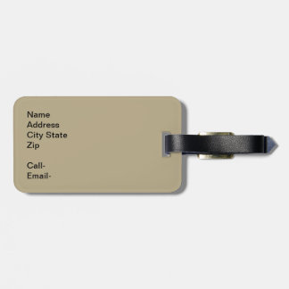 Smell the Coffee Luggage Tag