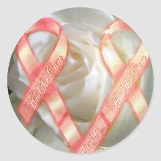 Smell the Cure_ Sticker_by Elenne Boothe Classic Round Sticker