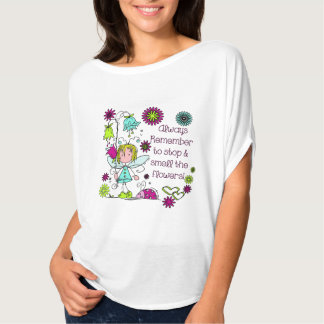 Smell the Flowers Gardening Pretty T Shirt