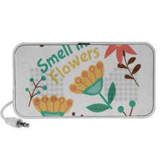 Smell The Flowers Portable Speaker