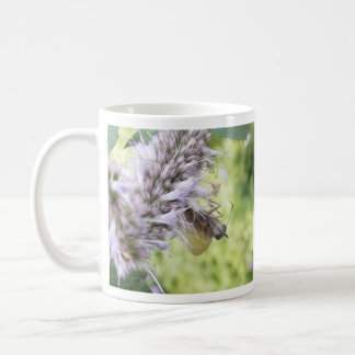 Smell The Flowers – Skipper Butterfly on Agastache Coffee Mug