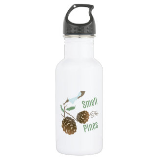 Smell The Pines 18oz Water Bottle