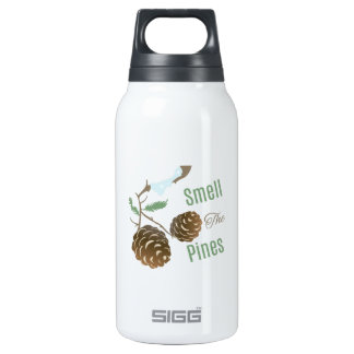 Smell The Pines 10 Oz Insulated SIGG Thermos Water Bottle