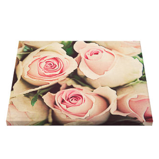 Smell the roses.. gallery wrapped canvas