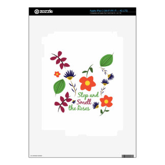 Smell The Roses iPad 3 Skin
