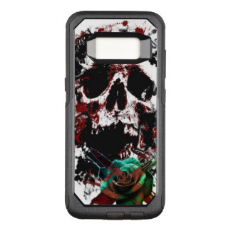 smell the roses skull phone case
