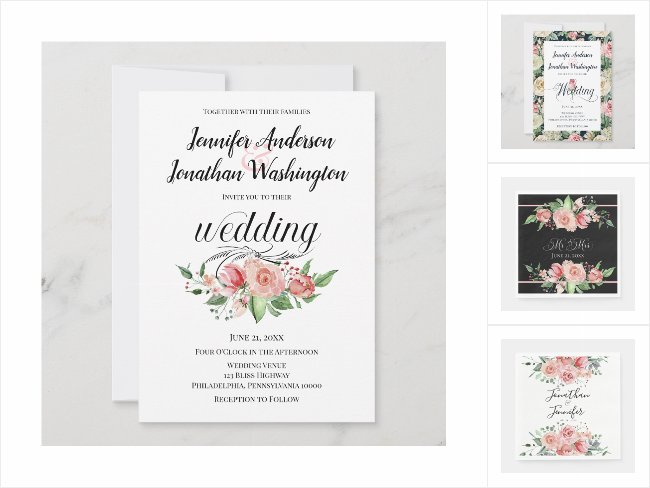 Smell the Roses Wedding Collection