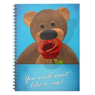 Smelling Dinky Bear