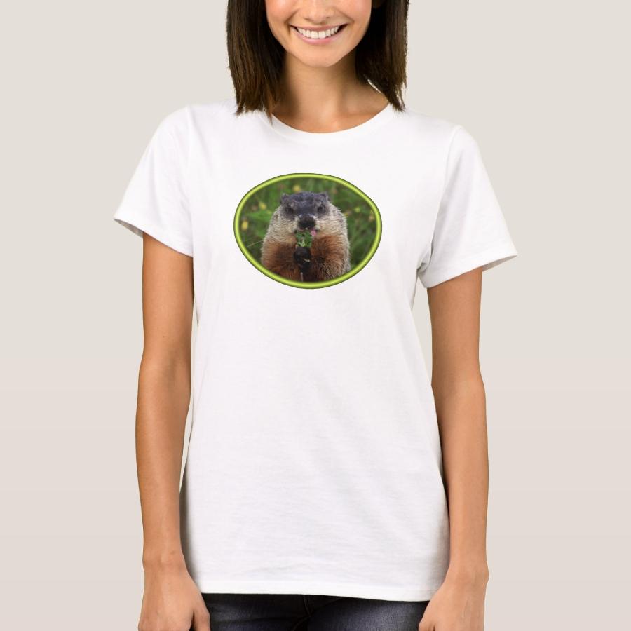 Smelling Spring Groundhog T-Shirt - Best Selling Long-Sleeve Street Fashion Shirt Designs