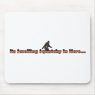 smelling squatchy mouse pad