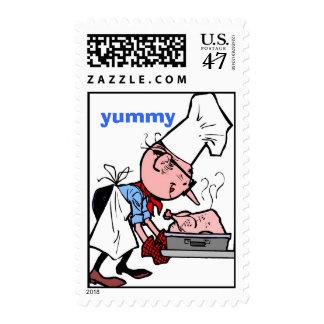 smells-good, yummy postage stamp