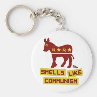 Smells Like Communism Basic Round Button Keychain