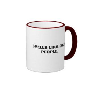 SMELLS LIKE OLD PEOPLE COFFEE MUG
