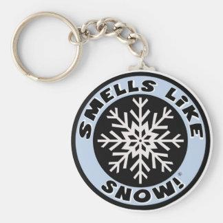 Smells Like Snow! Keychain