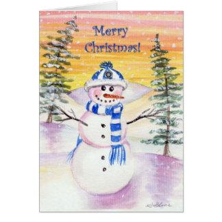 Smells Like Snow! Merry Christmas Card
