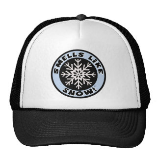 Smells Like Snow! Trucker Hat