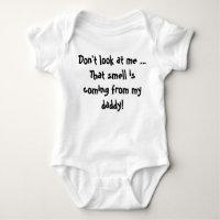 Smelly Daddy Baby Bodysuit