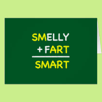 SMELLY   FART = SMART CARD