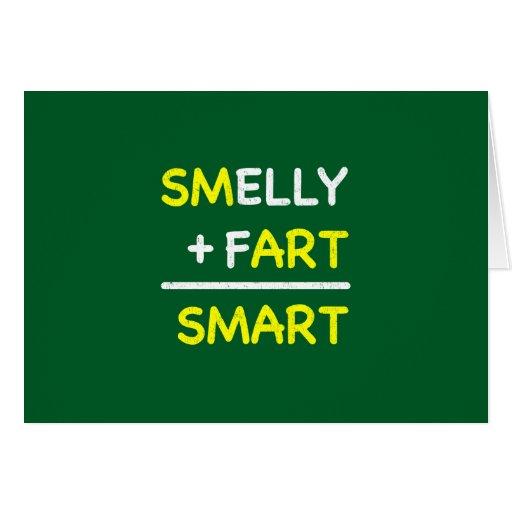 SMELLY + FART = SMART CARD | Zazzle: www.zazzle.com/smelly_fart_smart_card-137651122942619024