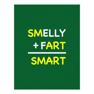 SMELLY + FART = SMART LETTERHEAD