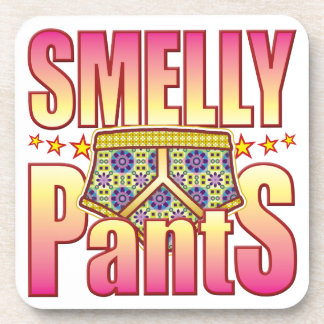 Smelly Flowery Pants Coasters