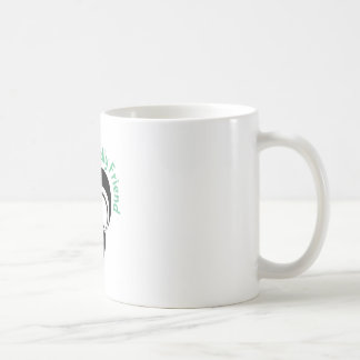 Smelly Friend Classic White Coffee Mug