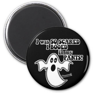 Smelly Ghost 2 Inch Round Magnet