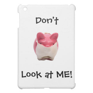 Smelly Pink Pig iPad Mini Cover